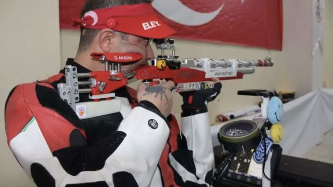 National shooter Omer Akgun was in Tokyo Olympic Games