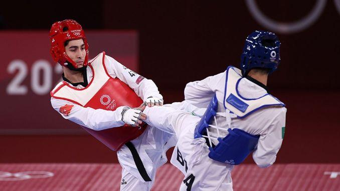 milli tekvandocu hakan recber olimpiyat oyunlarinda altin madalya sansini kaybetti