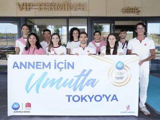 تم الترحيب بالرياضيين من مشروع الأمهات الأولمبية في طوكيو