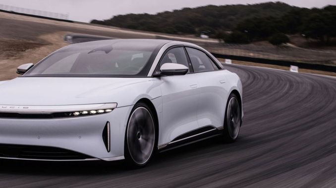 Lucid Air will be the first to use Pirelli's new HL tire