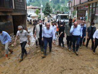 Раны заживают после наводнения в Ризе