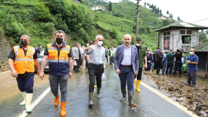 The wounds of the flood disaster in Rize are being healed