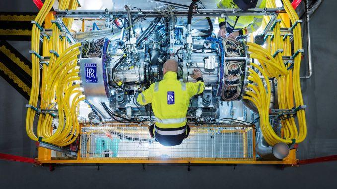 rolls royce's generator delivered for hybrid electric propulsion system