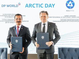 rosatom und dp world haben eine Kooperationsvereinbarung unterzeichnet