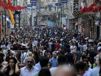 터키의 인구 지도가 그려졌다