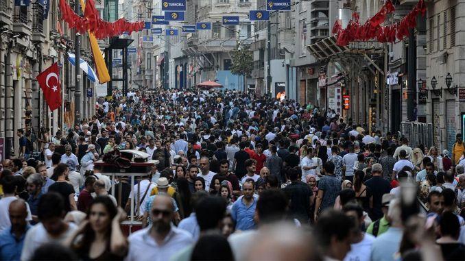 Turkey's population map was drawn