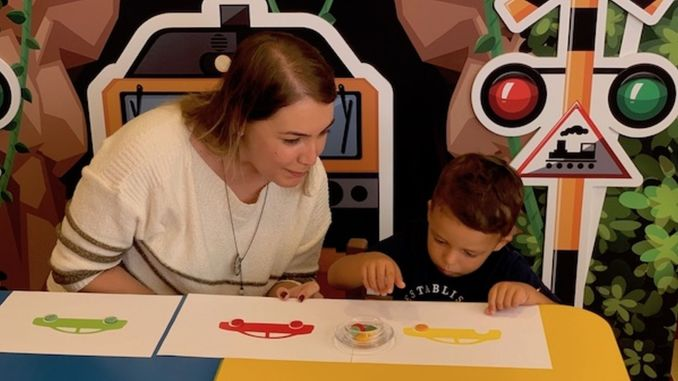 Artificial intelligence support for the development of children