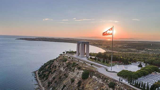 Canakkale Monument Opened with Toren