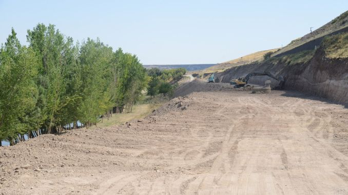 Work Started on the Old Mardin Road