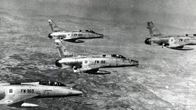 Today in History, Turkish Air Force Warplanes Bombarded Greek Cypriot Positions