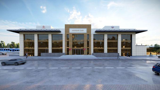 akhisar is getting a new train station soon