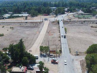 גשר חדש נבנה על כביש cakirlar express מספר