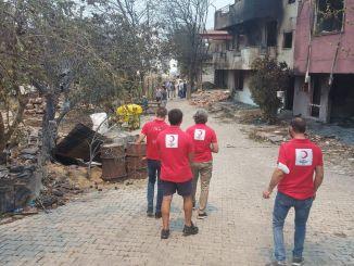 Podrška Crvenog polumjeseca za one koji su oštećeni u šumskim požarima u Antaliji