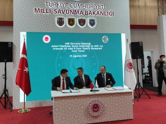 A mash supply contract was signed between the general directorate of military factories and mke as
