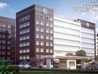 Die Universität Canakkale Onsekiz Mart erhält Vertragsgesundheitspersonal