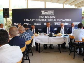 Відбулася нарада з оцінки експорту Егейського регіону