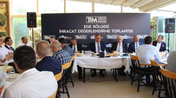 Exportbewertungssitzung der Ägäis-Region wurde abgehalten