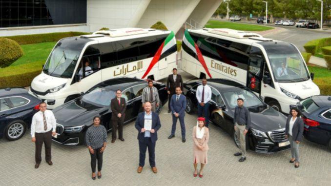 emirates uc alanda altin odule layik goruldu
