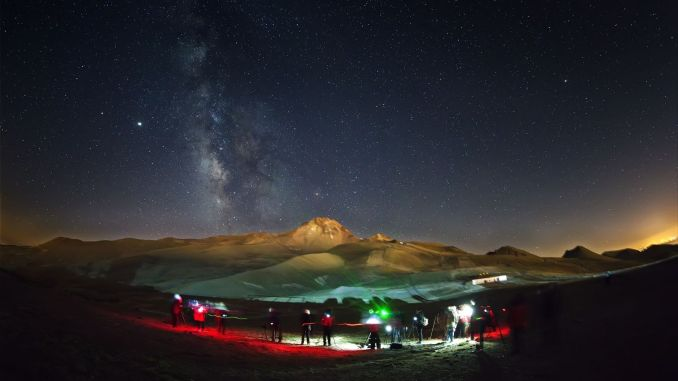 With the erciyes astrophotography training tour, the people of kayseri will get to know the universe