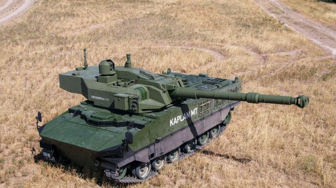 fnss tiger mt will be exhibited in its updated version