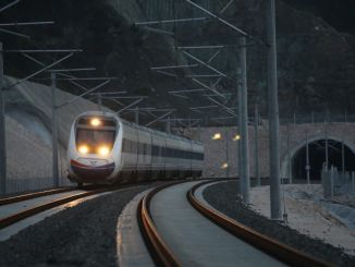 An earthquake early warning system will be developed for high-speed train lines
