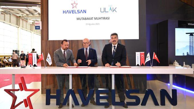 Memorandum of Understanding was signed between havelsan and messenger communication