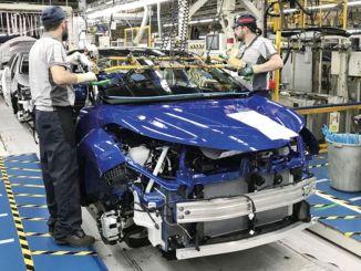 Za prvých sedem mesiacov sa automobilová výroba a export zvýšili o percentá.