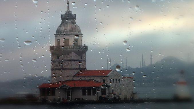 Istanbul rain