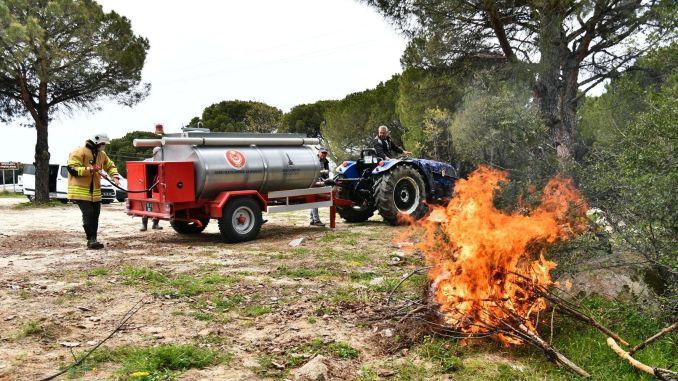 Općina Izmir će distribuirati još cisterni za gašenje požara