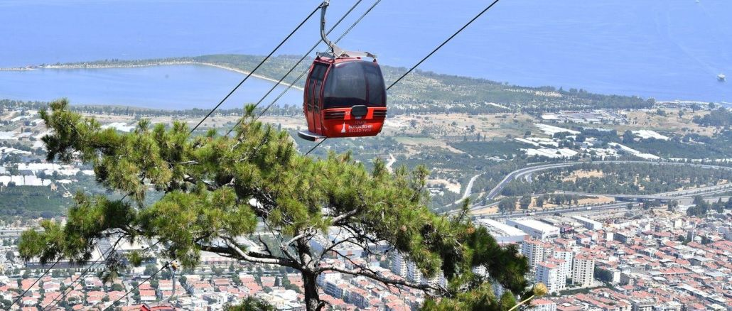 new measure against fires in izmir balcova cable car facilities were closed for a week