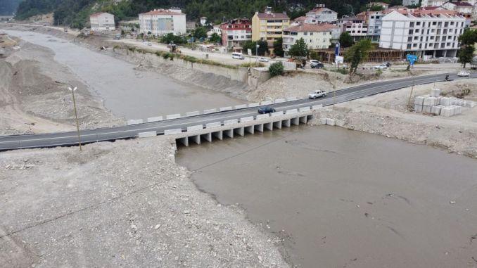 Für Kastamonu geplante permanente Transportprojekte werden zügig fortgesetzt