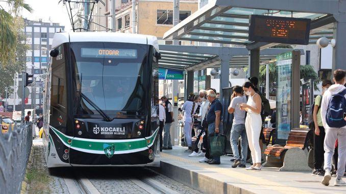 Kocaelide öffentlichen Verkehrsmitteln im August kostenlos