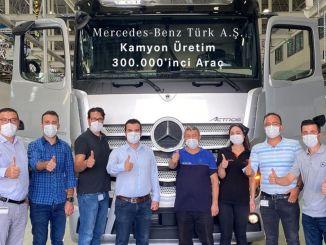перлинна вантажівка Mercedes Benz turk aksaray factory factory actros plus зійшла з групи