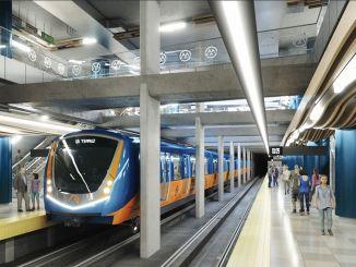 odobrenje za finansiranje metroa Mersin u milionima lira