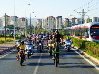 мотоциклисты встретятся один раз на мотофесте erciyes
