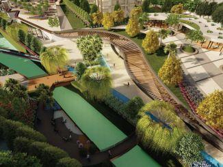 פארק פיר סולטן עבדאל, האזור החברתי הגדול ביותר בנרלידר, נמצא בשיפוץ