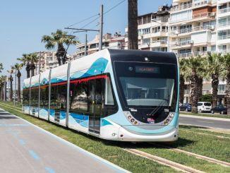 трамвайная линия идет в Орнеккое