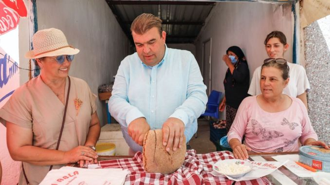 great interest in the festihisar ata bread and armola festival