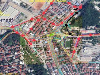 sgk koprulu kavsagi icin trafik alternatif guzergahlardan saglanacak