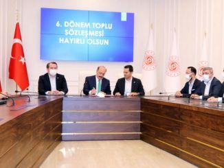 Коллективный договор подписан в отделении транспортных услуг