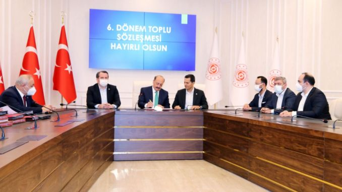 Collective agreement signed in the transportation service branch