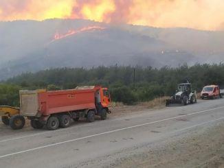 Das Ministerium für Verkehr und Infrastruktur greift mit allen Mitteln in den Brand ein.