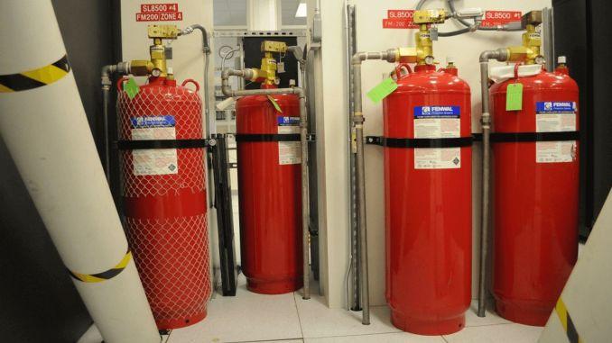 Sistema de extinción de incendios