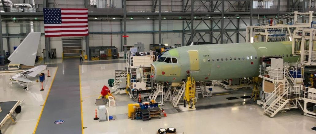 airbus will deliver commercial aircraft produced at the usa facility with sustainable aviation fuel