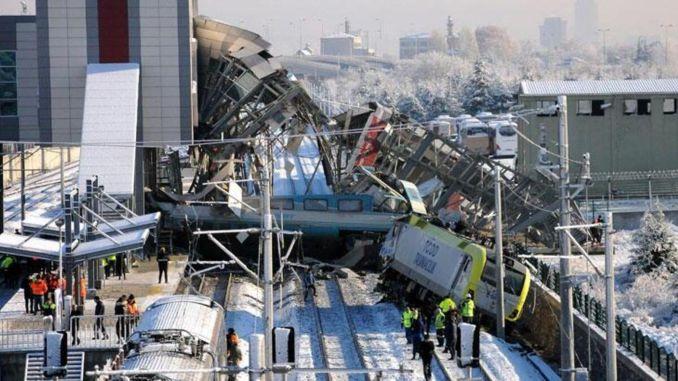 відбулося слухання справи про аварію швидкісного поїзда в Анкарі