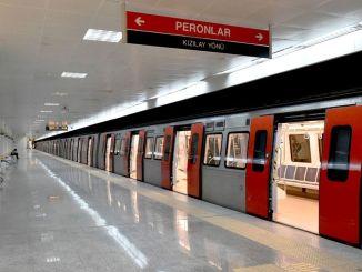 у анкари, его аутобуси прелазе на метро и анкарајски зимски ред вожње