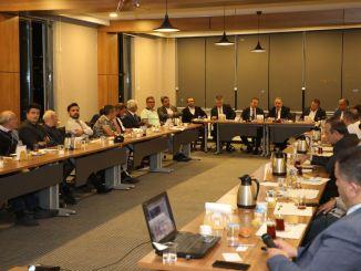 Präsident Yalcin Musiadda erzählte Ali Mountain Seilbahnprojekt