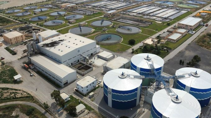 The capacity of the cigli wastewater treatment plant is being increased