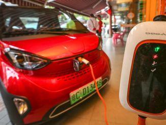 中國多年來沒有輸給任何人的電動汽車領先地位