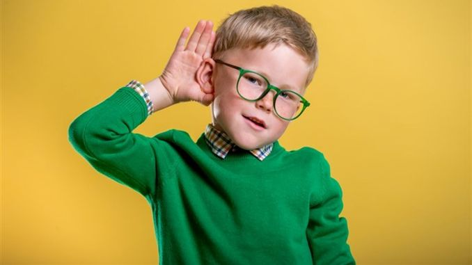 important signal of hearing loss in children